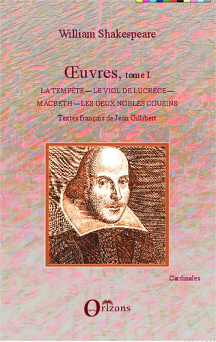 Couverture OEuvres, tome I