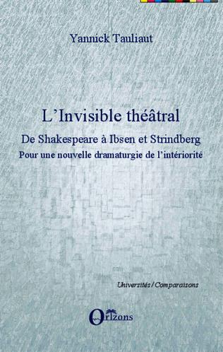 Couverture L'Invisible théâtral