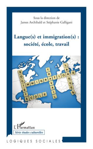 Couverture Langue(s) et immigration(s): société, école, travail