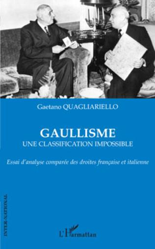 Couverture Gaullisme