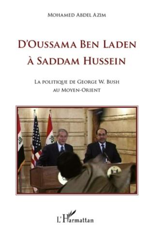 Couverture D'Oussama Ben Laden à Saddam Hussein