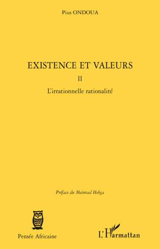 Couverture Existence et valeurs (tome II)