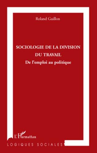 Couverture Sociologie de la division du travail