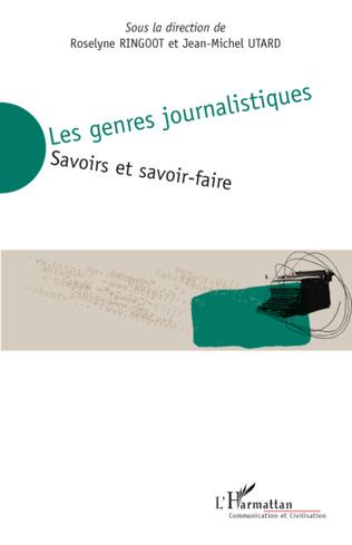 Couverture Les genres journalistiques