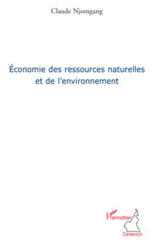 Couverture Economie des ressources naturelles et de l'environnement