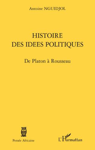 Couverture Histoire des idées politiques