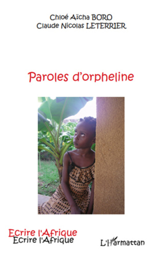 Couverture Paroles d'orpheline