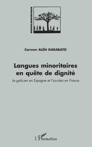 Couverture Langues minoritaires en quête de dignité