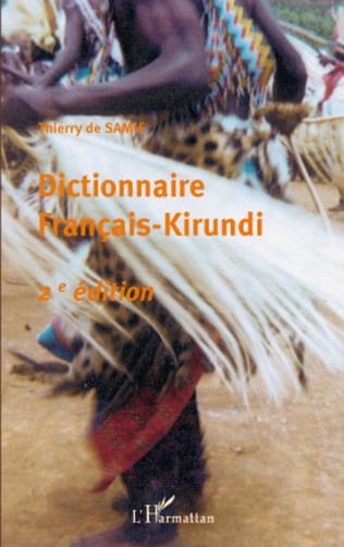 Couverture Dictionnaire français-kirundi