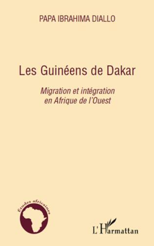 Couverture Les Guinéens de Dakar