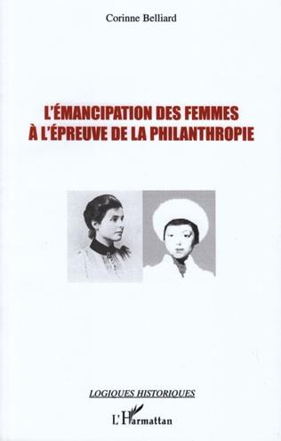Couverture L'émancipation des femmes à l'épreuve de la philanthropie