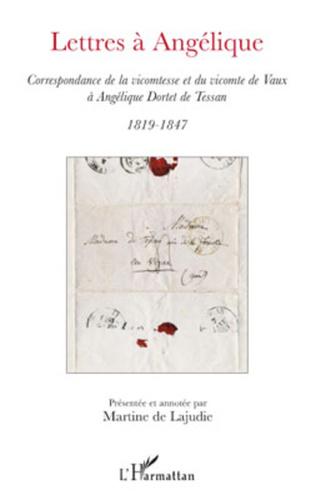 Couverture Lettres à Angélique