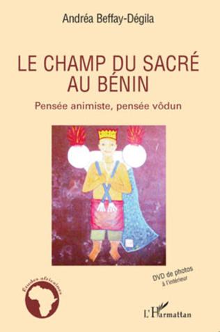 Couverture Le champ du sacré au Bénin
