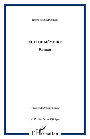 Couverture Nuit de mémoire