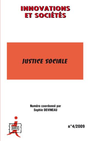 Couverture Justice sociale