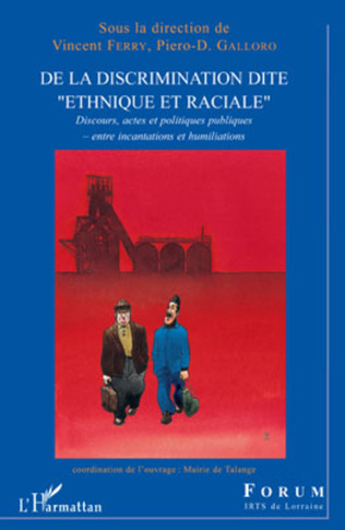 Couverture De la discrimination dite