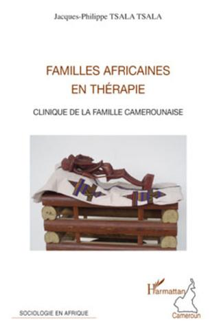 Couverture Familles africaines en thérapie