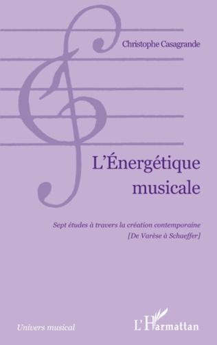 Couverture L'Energétique musicale