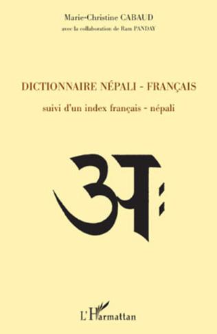 Couverture Dictionnaire népali-français
