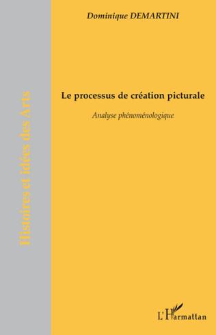 Couverture Le processus de création picturale