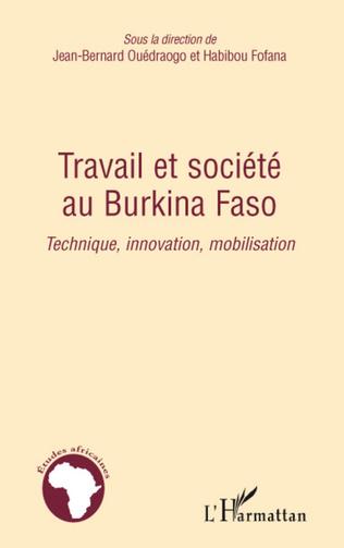 Couverture Travail et société au Burkina Faso