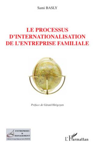 Couverture Le processus d'internationalisation de l'entreprise familiale