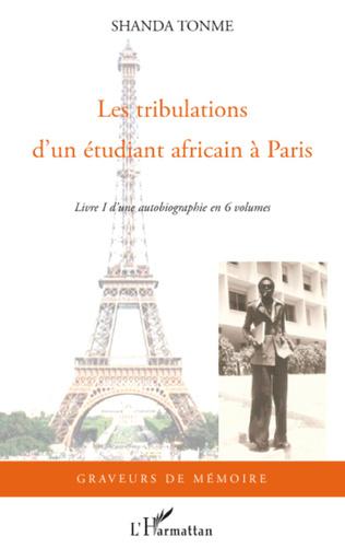 Couverture Les tribulations d'un étudiant africain à Paris