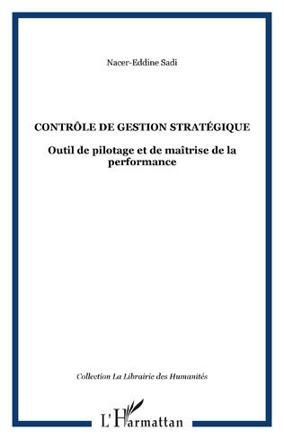 Couverture Contrôle de gestion stratégique