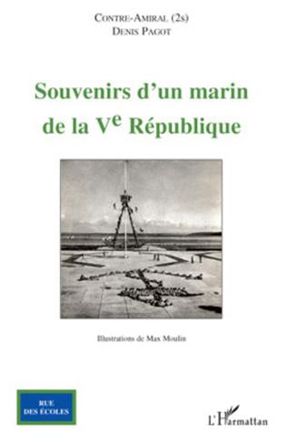 Couverture Souvenirs d'un marin de la V° République