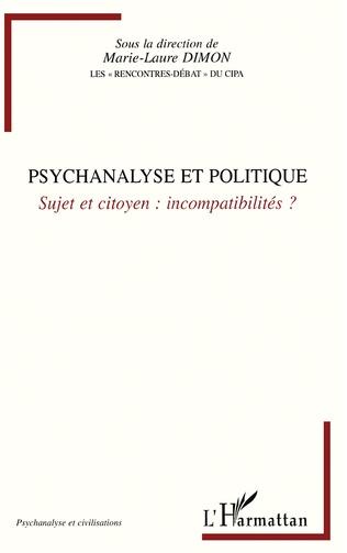 Couverture Psychanalyse et politique