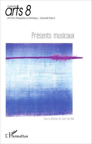 Couverture Présents musicaux