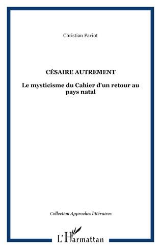 Couverture Césaire autrement