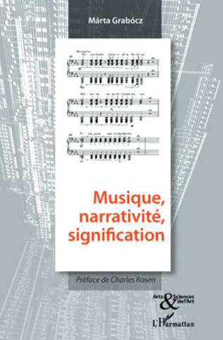 Couverture Musique, narrativité, signification