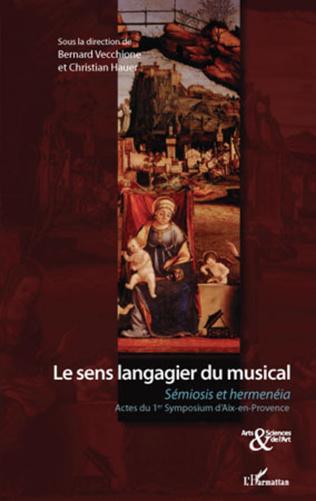 Couverture Le sens langagier du musical