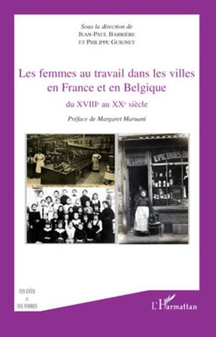 Couverture Les femmes au travail dans les villes en France et en Belgiq
