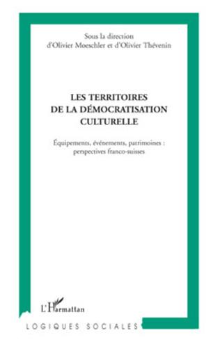 Couverture Les territoires de la démocratisation culturelle