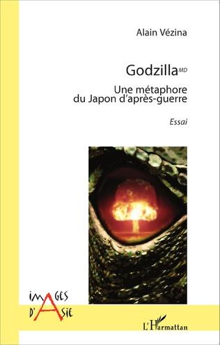 Couverture Godzilla MD. Une métaphore du Japon d'après-guerre
