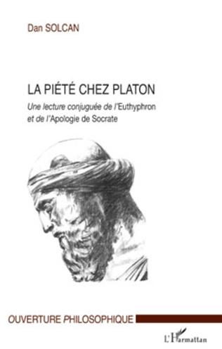 Couverture La piété chez Platon