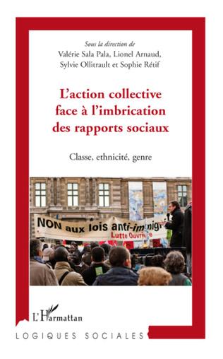 Couverture L'action collective face à l'imbrication des rapports sociaux