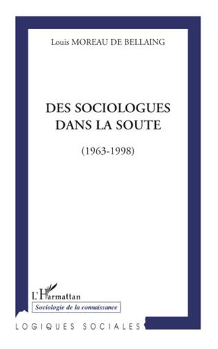 Couverture Des sociologues dans la soute