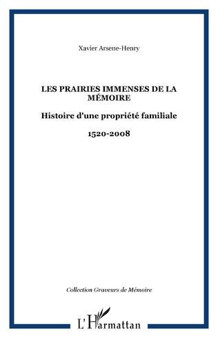 Couverture Les Prairies immenses de la Mémoire