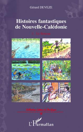 Couverture Histoires fantastiques de Nouvelle-Calédonie