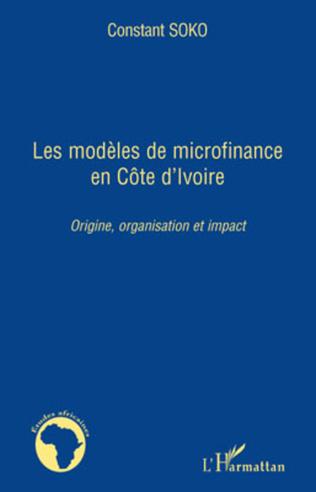 Couverture Les modèles de microfinance en Côte d'Ivoire