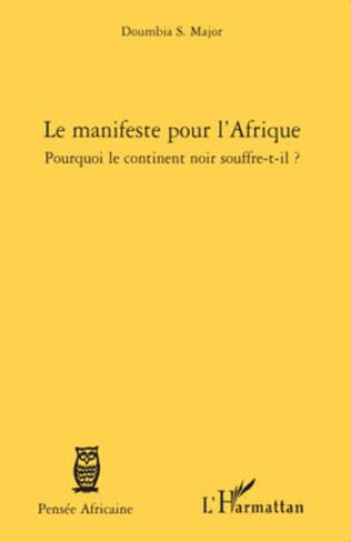 Couverture Le manifeste pour l'Afrique