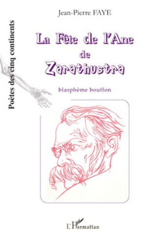 Couverture La fête de l'Ane de Zarathustra