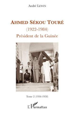 Couverture Ahmed Sékou Touré