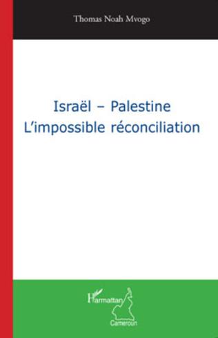 Couverture Israël - Palestine