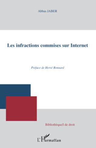 Couverture Les infractions commises sur Internet