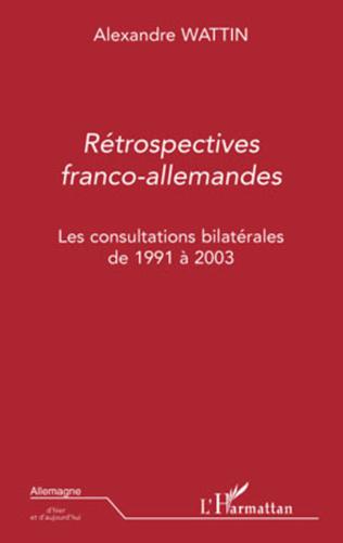 Couverture Rétrospectives franco-allemandes