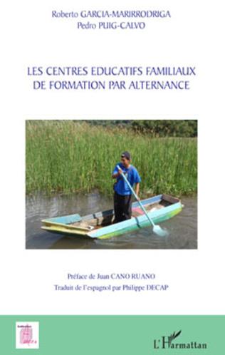 Couverture Les centres éducatifs familiaux de formation par alternance